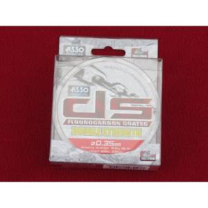 asso double strength mixte fluorocarbon 300 m-0.35mm-16.5 kgs
