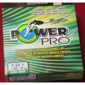 tresse power pro 0.23mm-455m