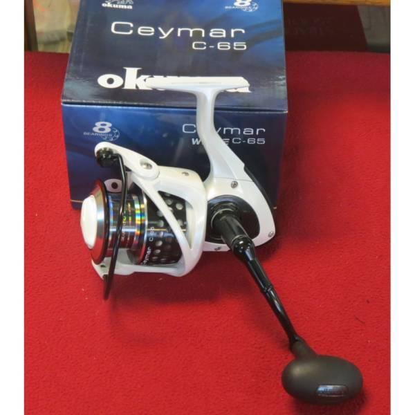 moulinet okuma ceymar c-65 white