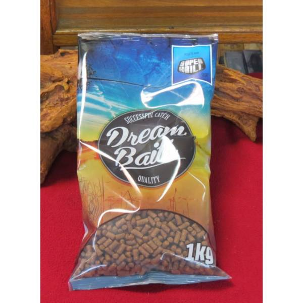 pellets dreambaits 6mm super krill