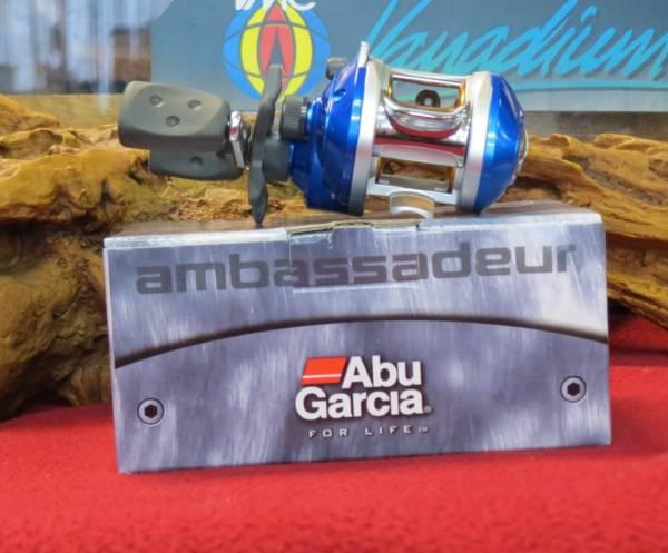 moulinet casting abu garcia ambassadeur bluemax lh-gauché