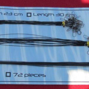 pack 72 avancons acier pour carnassier
