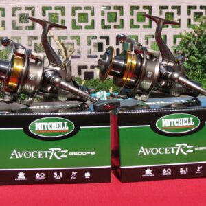 2 moulinets carp mitchell avocet rz 6500fs