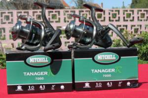 2 moulinets mitchell tanager 7000 fb