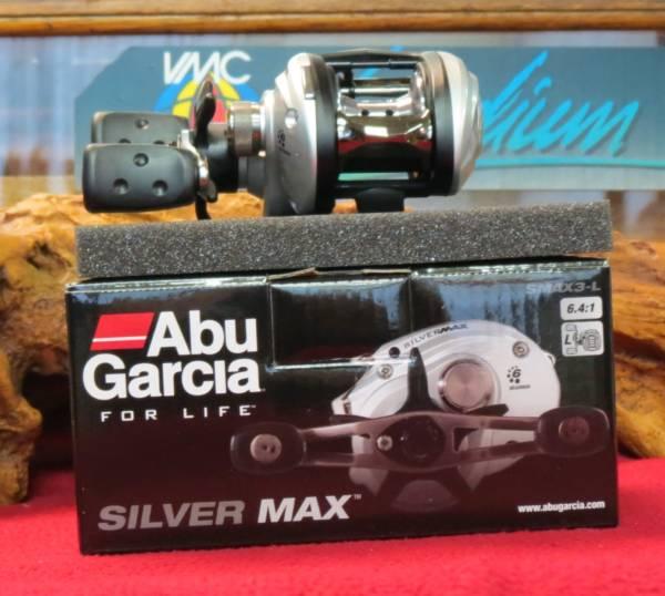 moulinet casting abu garcia silver max