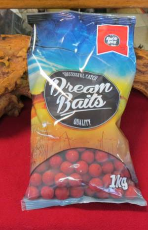 boilies carp dreambaits 20mm red spicy 1 kg