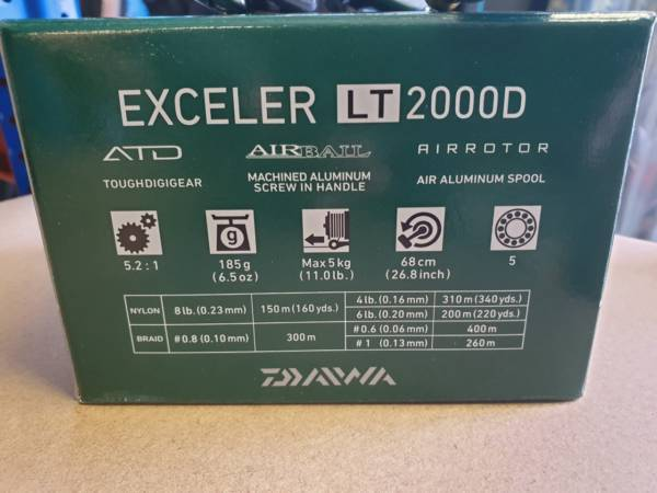 moulinet daiwa exceler LT2000D