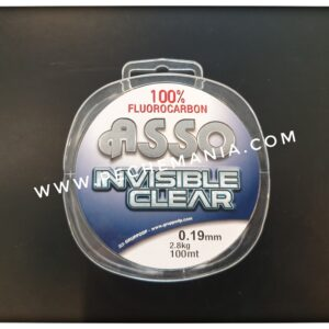 asso fluorocarbon invisible clear 0.19mm