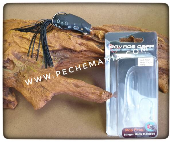savagear pop frog black