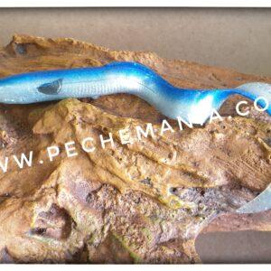 savagear real eel 15cm 12grs blue pearl silver